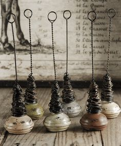 Doorknob Photo And Card Holders 6 holders/pkg Door Knobs Crafts, Old Door Knobs, Vintage Door Knobs, Glass Door Knobs, Glass Doors, Picture Holders, Photo Holders, Place Card Holders, Save On Crafts
