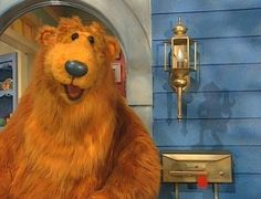 bear in the big blue house don't know what my childhood would be without you<3
