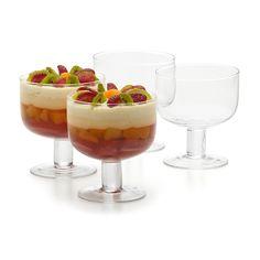 Mini Trifle Bowls - Set of 4 | Kmart