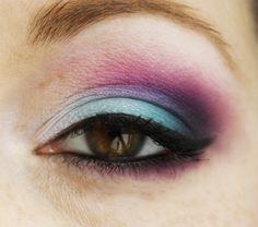 Makeup et Ukulele Par Juddde: [Look] Mauve et bleu