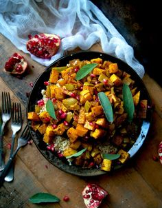 Warm Moroccan Roasted Vegetable Salad (Vegan)