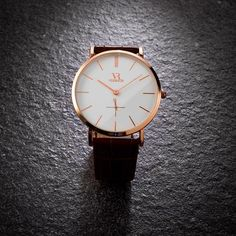 Simplicity is the ultimate sophistication. Featuring a rose gold case & eggshell white dial, the Oxford is the perfect classic timepiece. #VODRICH