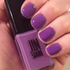 jin soon nails | Jin Soon Voile: This springy purple made the grey Pittsburgh winter a ...