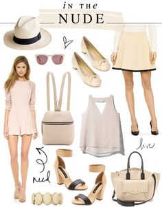 In The Nude {& Pretty Things}
