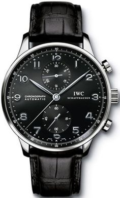 IWC Portuguese Chrono Automatic Steel Watch