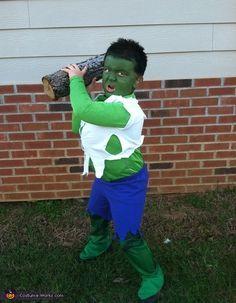 The Incredible Hulk - Halloween Costume Contest via @costumeworks