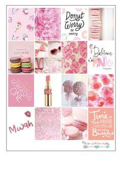 Pink Macaron Stickers For Erin Condren  от LittleSurpriseShop