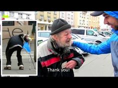 This aged homeless man picks up a wallet and returned it to the owner, asking for a little change for food. The man gives him $1000 instead for one reason
