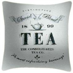 TEA Label B&W - Martin Wiscombe - Art Print Cushions