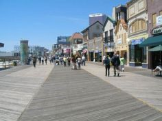 Boardwalk, Atlantic city, NJ, where I once spent a whole summer making cheesesteaks!