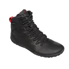 Tracker is a barefoot hiking boot made from high quality leather. It is designed for wild and rough terrains, with our new firm ground sole. This minimalist walking shoe�۪s waterproof lining and thermal protection keep feet protected and ready to explore nature.