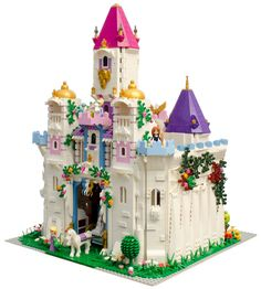 All of the Lego Friends and Lego Disney Princess figures need a place to stay. Especially if they need to fend off a horde of baddies.