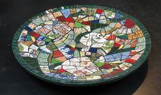 Pique assiette Bowl by DayBreak Mosaics, via Flickr