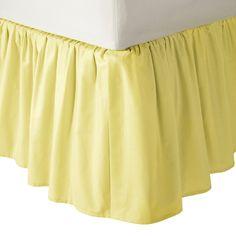 American Baby Company 100 Cotton Percale Ruffle Crib Skirt