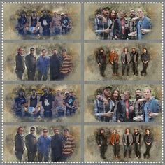 Created for Home Free Monday in the Facebook group Home Free's Home Fries. | Facebook cover and Twitter header photos with Home Free