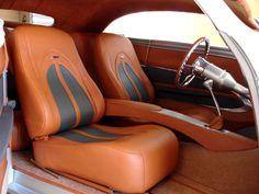 Speedstar - Custom Street and Hot Rod Interiors, Classic Car Upholstery Custom Car Interior, Car Interior Design, Truck Interior, Interior Ideas, Car Interior Upholstery, Automotive Upholstery, Preppy Car Accessories, Car Interior Accessories, Custom Center Console