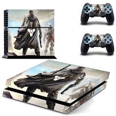 Destiny PS4 Protective Vinyl Skin Cover 2 Controllers