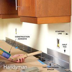 One Day Kitchen Updates Kitchen Backsplashkitchen Renokitchen Ideaskitchen Hackskitchen Makeoversstainless Steel Tilestile Installationkitchen