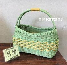籐カゴ(ё_ё)hi*Rattan♪:SMさんバック