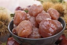 Did you know that some of the best marron glacé, or candied chestnuts come from Turkey? Try this easy recipe for tender candied chestnuts that made an entire region of Turkey famous. French Sweets, Chestnut Recipes, Cuisine Diverse, Thermomix Desserts, Cooking Chef, Side Dish Recipes, Food Dishes, Sweet Recipes, Love Food