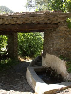 Lavadero de Fondales, Mecina Fondales   Comarca de La Alpujarra, Andalucía Vive Alpujarra