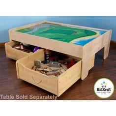 Train Table, Wheeled Storage, Tracks And Items