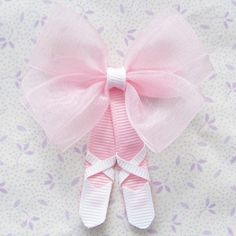 Tutu Ballerina Hair Clippie