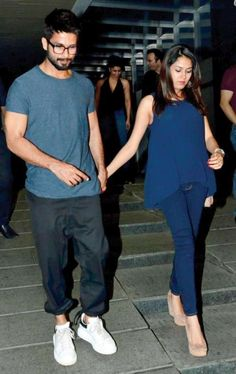 Mira Rajput admitted in hospital over the weekend and hubby Shahid Kapoor was by her side