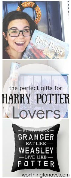 THE perfect gifts for Harry Potter Fans!