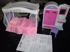 Jessica Doll Bedroom set (suitable for Barbie dolls!