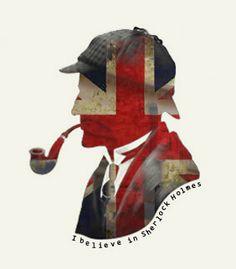 I believe in Sherlock Holmes. Sherlock Holmes, Famous Detectives, Jeremy Brett, England And Scotland, Illustrations, Baker Street, Union Jack, British Isles, British Style