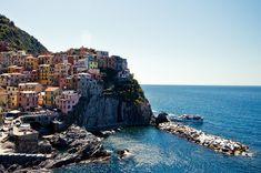 The Colorful Italian village Manorola