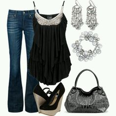 Love it. Love the top and shoes