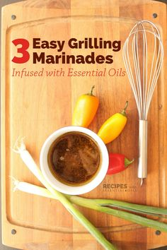 3 Easy Grilling Marinades Infused with Essential Oils Get out your grills and enjoy the deliciousness of essential oil infused grilling mari. Cooking Beets In Oven, Cooking Oil, Cooking Broccoli, Cooking Light, Chewy Ginger Cookies, Beef Marinade, Ricardo Recipe, Cooking With Essential Oils, Cooking Recipes