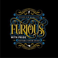 Selected tees designs / typeworks for Furious (Bali, ID) i did in July - August, 2014.