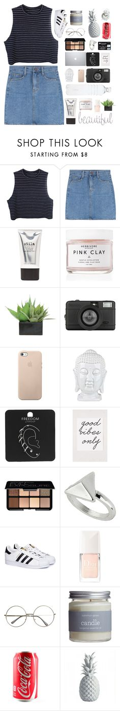 """""""▬like to join taglist▬"""" by to-busy-dreaming ❤ liked on Polyvore featuring Stila, Herbivore, Lux-Art Silks, Lomography, Topshop, Urban Outfitters, Smashbox, adidas, Christian Dior and Common Good"""