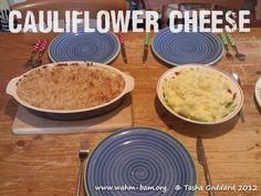 Cauliflower Cheese - the perfect rainy day comfort food