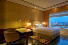 Hyatt Regency Chennai is situated on the iconic Anna Salai. Rooms from $147 per night.