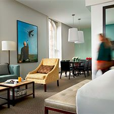 Enjoy a stay at the contemporary 21c Museum Hotel in Louisville - VisitSouth.com