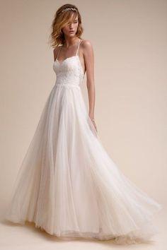 Almond Rosalind Gown   BHLDN