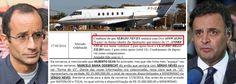 Listão da Odebrecht cita dono do avião de Aécio Neves