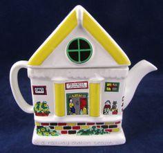 Wade Teapot English Life Collectible Primrose Junction Train Railway Station | eBay