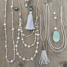 Boho Pearls - Made Ya Wanna Wear Pearls because they're always in style! Bohemian Necklace, Tassel Necklace, Necklaces, Pearls, Boho, How To Wear, Etsy, Jewelry, Style