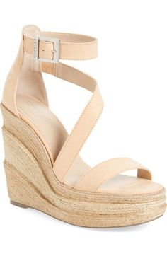 Charles by Charles David Thunder Wedge Sandal (Women) available at #Nordstrom