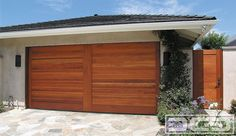 Dynamic Garage Door | Custom Architectural Garage Door : Mid-Century