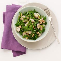 Gnocchi with Arugula and Walnuts - Our 1,350-calorie-a-day diet features foods that are great at stopping that famished feeling.