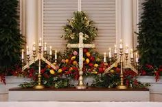 decorating church for christmas google search