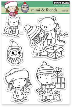 Mimi and Friends - Clear Stamp