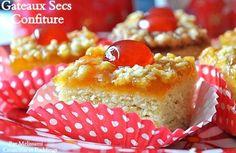 Gâteaux Secs Très Fondants à la Confiture - Recette très facile -