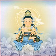 琉璃觀音 Little Buddha, Guanyin, Buddhist Art, Cute Images, Deities, Buddhism, Chibi, Cartoon, Drawings